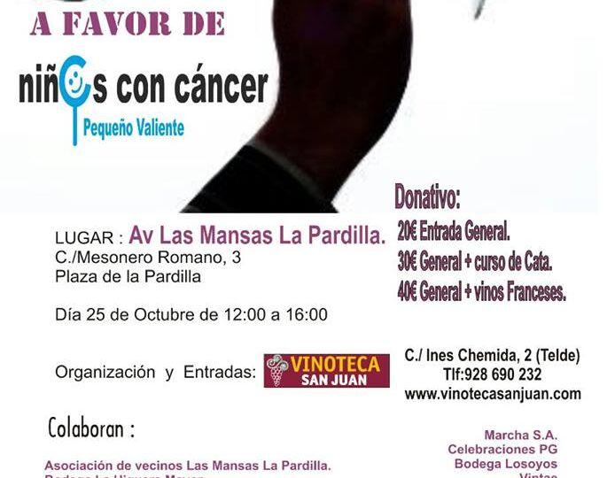 Cartel Cata Solidaria Vinoteca
