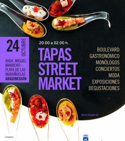 Tapas Street Market,Arguineguín Mogán