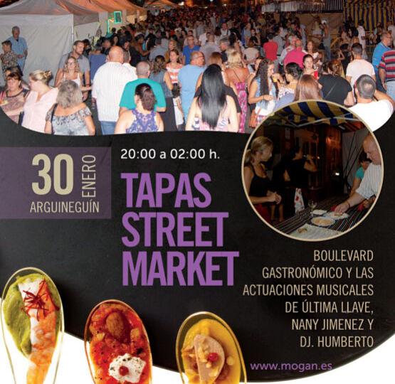 Tapas Street Market Arguinegín