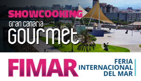 Showcooking de Gran Canaria Gourmet en FIMAR