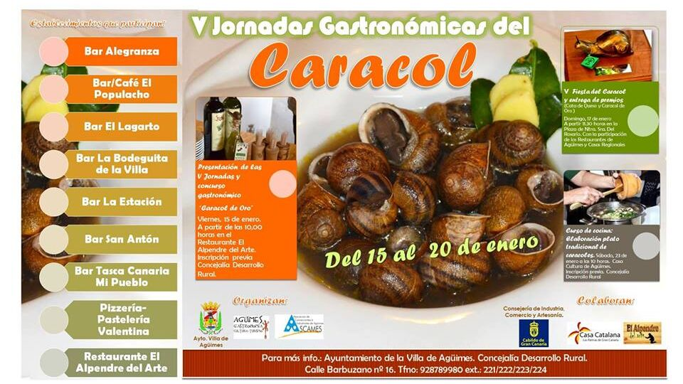 V Jornadas Gsstronomicas El Caracol